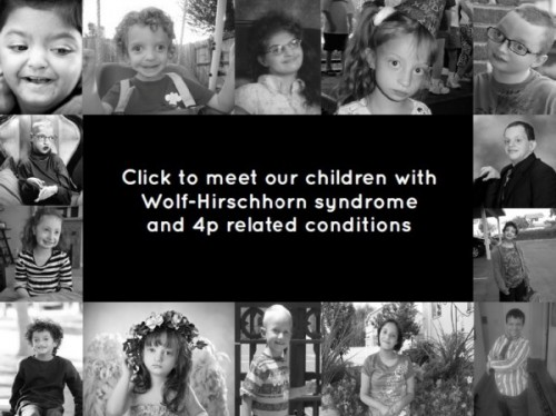 Meet our children with Wolf-Hirschhorn and 4p related conditions